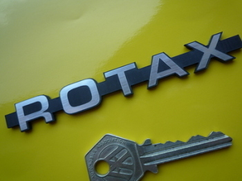 "Rotax Style Laser Cut Self Adhesive Car Badge. 4.5""."