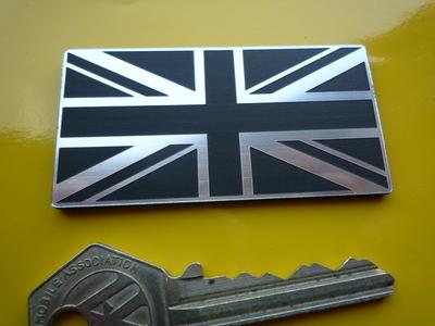 Union Jack Self Adhesive Bike/Car Badge. 2.5