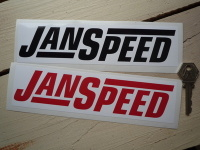 Janspeed Exhausts Oblong Stickers. 8