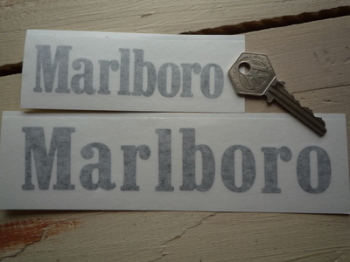 "Marlboro Cut Text Style A Sticker. 18"" or 22.5""."
