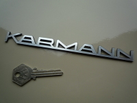 Karmann Text Laser Cut Self Adhesive Car Badge. 5