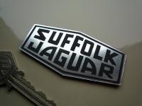 "Suffolk Jaguar Logo Laser Cut Self Adhesive Car Badge. 3""."