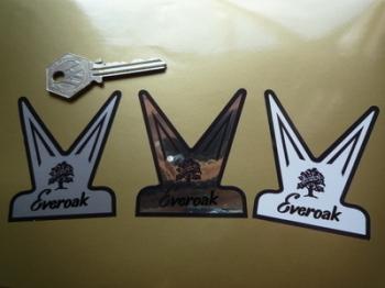 "Everoak Helmet Sticker. 1.75"" or 2.5""."