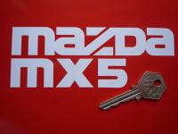 Mazda MX5 Cut Vinyl Sticker. 6