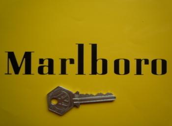 "Marlboro Cut Text Style B Sticker. 6""."