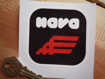 "Nava Helmets Sticker. 3""."
