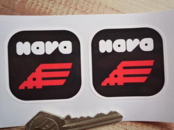 """Nava Helmets Stickers. 2"""" Pair."""