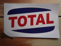 "Total 63 On Ovoid Sticker. 10""."