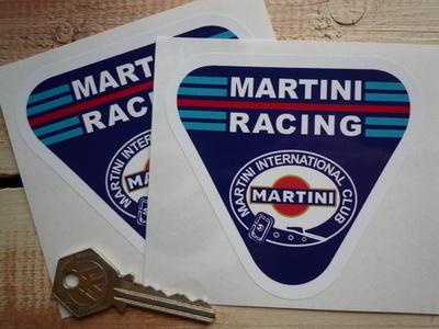 Martini Racing International Club. Triangle Stickers. 4