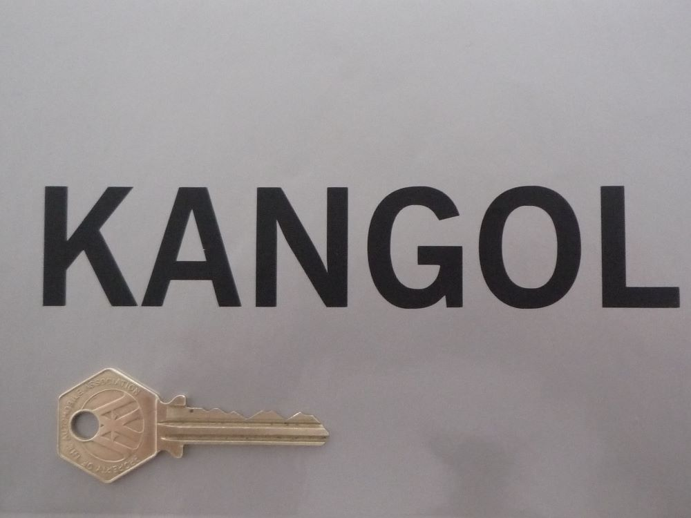 Kangol Helmets & Seat Belts