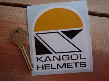 """Kangol Helmets Sticker. 3""""."""