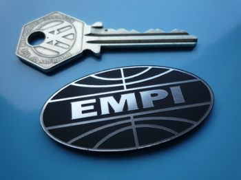 "EMPI Logo Style Self Adhesive Car Badge. 2""."