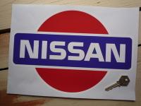 Nissan Coloured Logo Sticker. 12