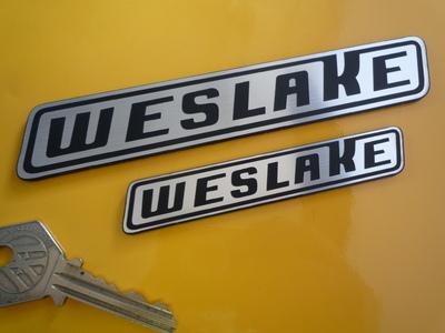 Weslake Laser Cut Self Adhesive Car or Bike Badge. 4