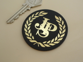 JPS John Player Special Garland Style Self Adhesive Car Badge. 24mm, 37mm, 57mm or 70mm.
