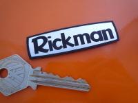 Rickman Laser Cut Self Adhesive Bike Badge. 2.5