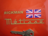 Rickman Metisse Clear Background Stickers. 4.5