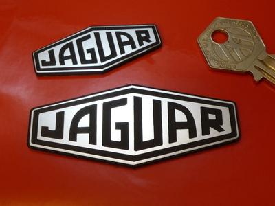 Jaguar Lozenge Logo Laser Cut Self Adhesive Car Badge. 2