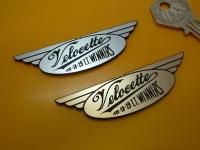 Velocette TT Winners Laser Cut Self Adhesive Bike Badge. 3