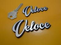 Veloce Script Style Laser Cut Self Adhesive Bike Badge. 3