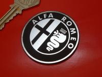 "Alfa Romeo Logo Style Laser Cut Self Adhesive Car Badge. 1"" or 2"""
