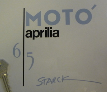 Aprilia Moto 6.5 Philippe Starck Motorcycle Tank Graphics Stickers Set.