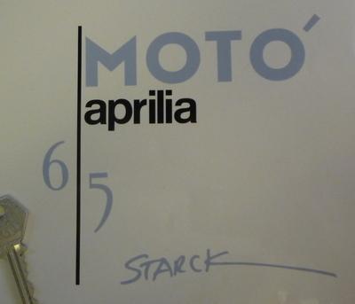 Aprilia Moto 6.5 Philippe Starck Motorcycle Tank Graphics Stickers Set.