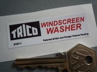 Trico Windscreen Washer Sticker. 2.5