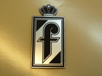 "Pininfarina Crest Style Laser Cut Magnet. 2"""