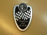 """Alfa Romeo Suderia del Portello Shield Style Laser Cut Magnet. 2.75"""""""