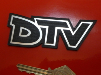 "DTV Vauxhall Laser Cut Self Adhesive Car Badge. 4""."