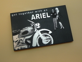 Ariel Get Together With An Ariel Advert Style Laser Cut Magnet. 2.5""