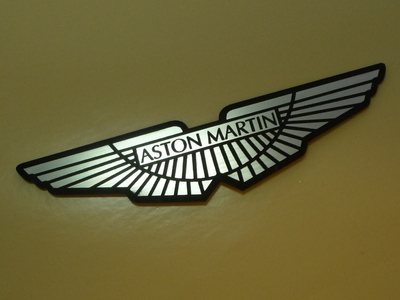 "Aston Martin Winged Logo Style Laser Cut Magnet. 4"", 5"", or 8.5""."