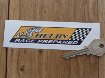 "Shelby Race Prepared Sticker. 5""."