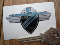 "Elite Motors Tooting Car & Motorcycle Dealers Sticker. 2.5""."