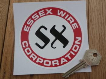 "Essex Wire Corporation Circular Sticker. 4"", 6"" or 8""."