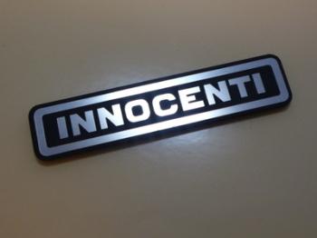 "Innocenti Logo Style Laser Cut Magnet. 3"""