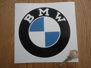 "BMW Serif Style Roundel Sticker. 4"" or 6""."