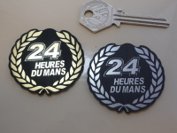 24 Heures Du Mans LeMans Le Garland Style Self Adhesive Car Badge. 2