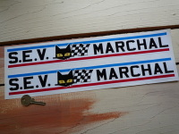 SEV Marchal Long Stripe Stickers. 15