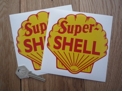 Shell Super Stickers. 2