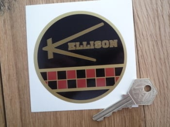 "Kellison American Kit Car Sticker. 3.5""."