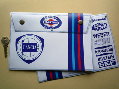 Lancia Martini Document Holder/Toolbag 10