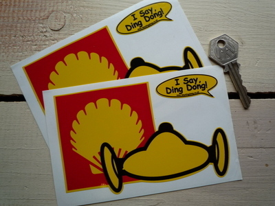 Shell Le Mans Style Stickers. 5