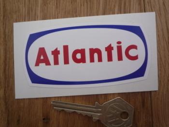"Atlantic Petrol Gas Sticker. 4""."