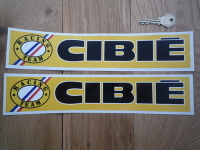 Cibie Racing Team Logo on Left Stickers. 12.5