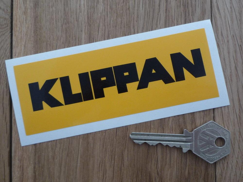 Klippan Seatbelts Black Amp Yellow Sticker 5 Quot