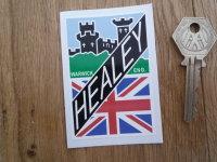 Donald Healey Motor Company Austin Healey Style Sticker. 3