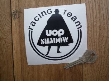 Shadow UOP Racing Team Sticker. 4""