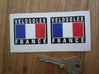 VeloSolex France Tricolore Style Stickers. 2